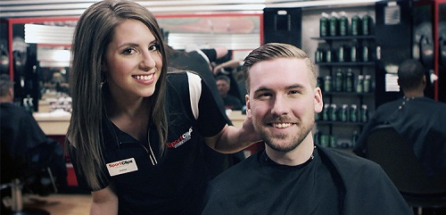 Sport Clips Haircuts of McHenry​ stylist hair cut